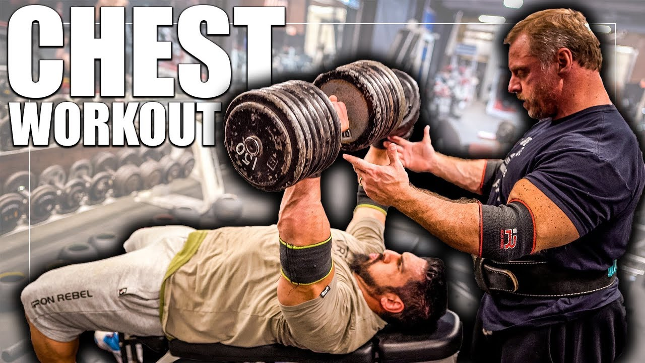Constant Tension *HEAVY* Chest Workout @ Madtown Fitness