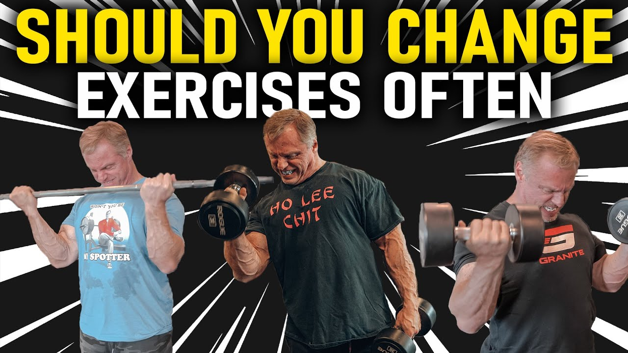Should You Change Exercises Often? (Yes or No)