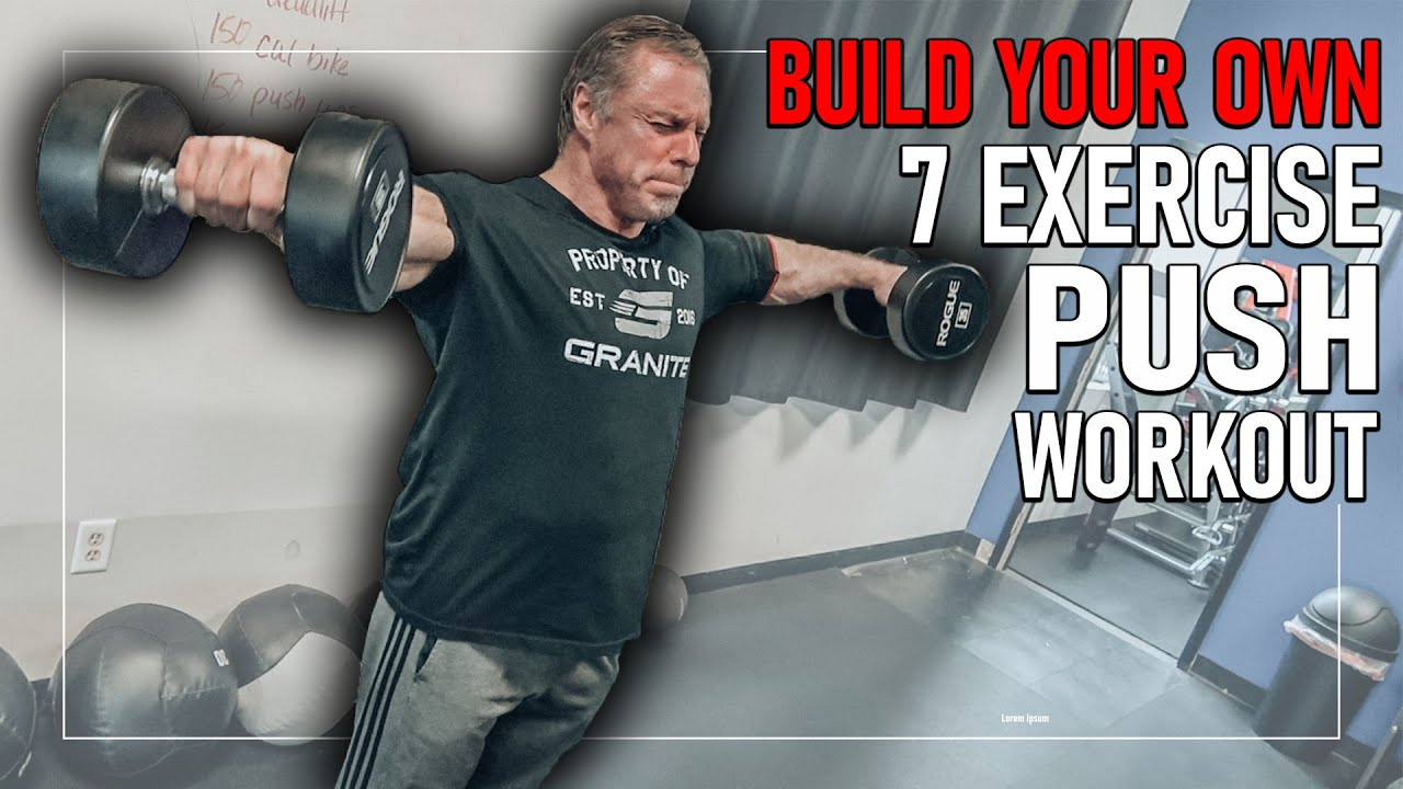 """Push Workout for """"MASS"""" (Build Your Own Workout) Mountain Dog Training"""