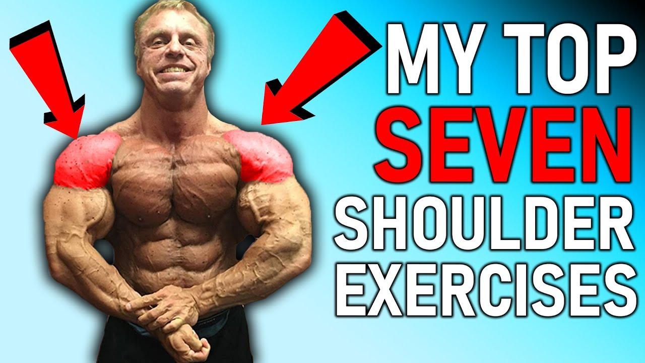 "Top ""7"" Shoulder Exercises ( Trigger Massive Growth )"
