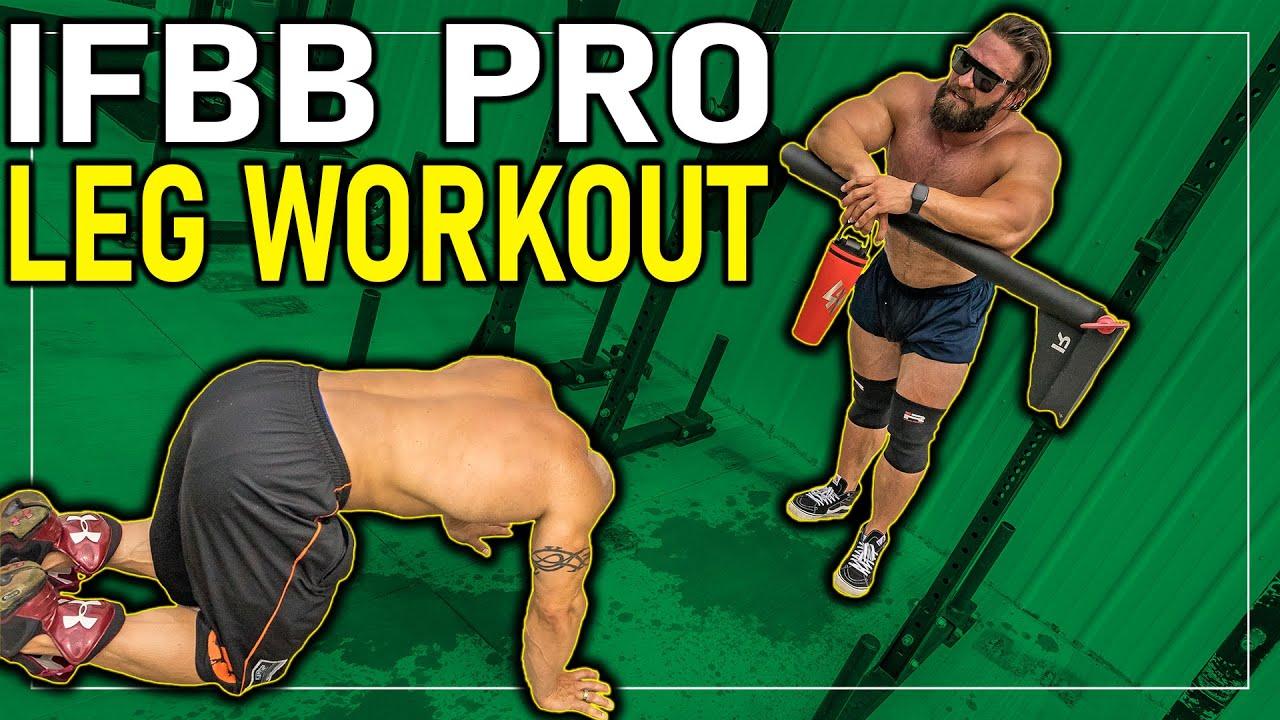 Insane IFBB Pro Leg Workout with Guy Cisternino